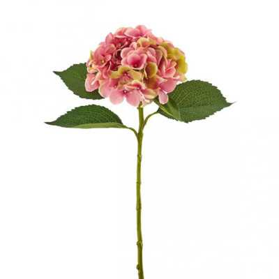 Ortensia Rosa Artificiale di Elevata Qualità shop online