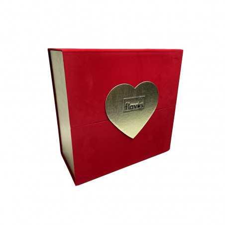 Box Grande 12 Rose Stabilizzate e Biscotto Love shop online