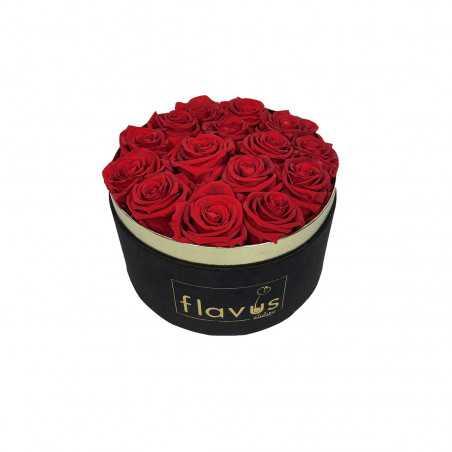 Box Tondo in Velluto Rose Vere shop online