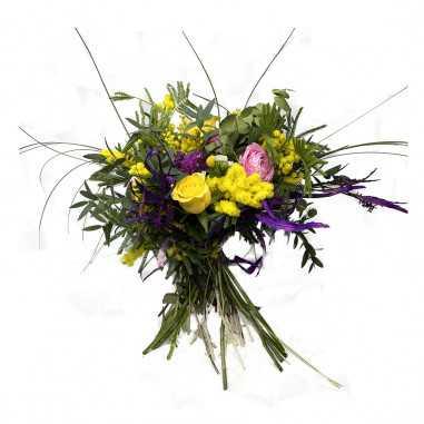 Bouquet Fiori Misti e Mimosa shop online